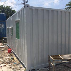 Ngoại thất container văn phòng 20 feet