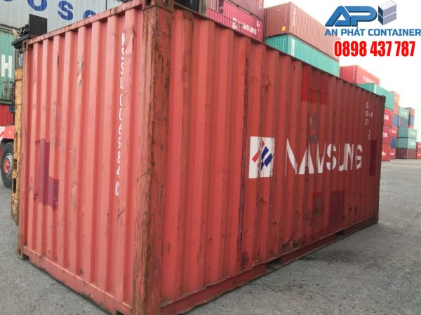 container 20 feet 80%