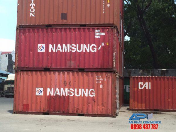 container 20 feet cu