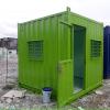 Container văn phòng 10 feet bảo vệ