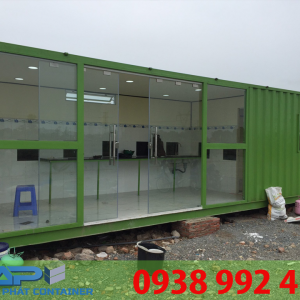 container van phong xanh