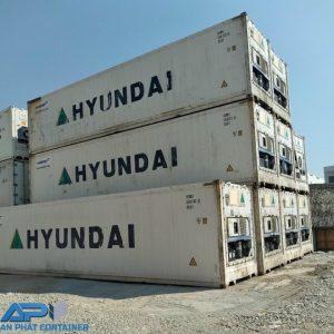 Lô container lạnh 40 feet cũ, chất lượng 80%-90%