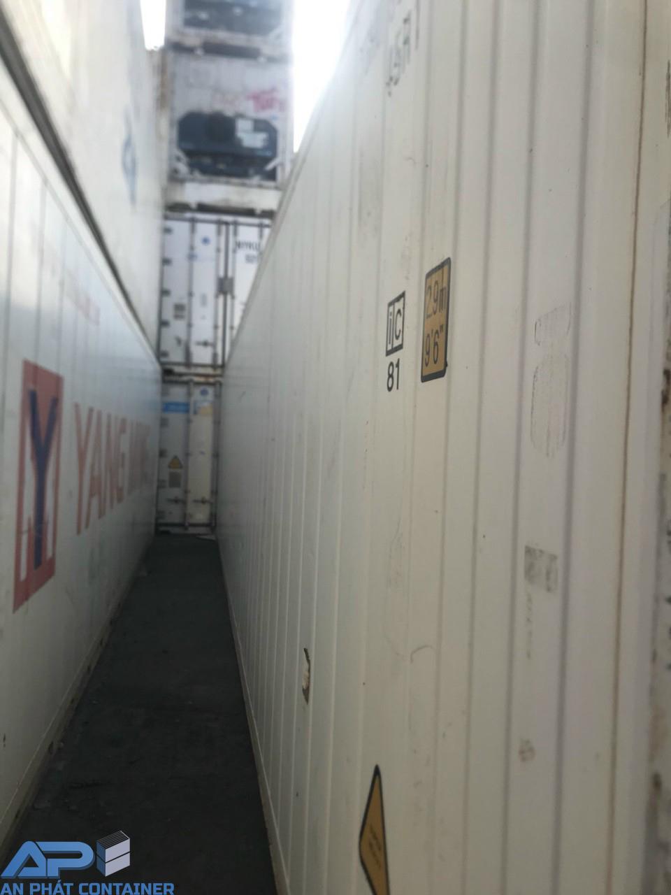 Container lạnh 40 feet cũ vẫn còn rất đẹp