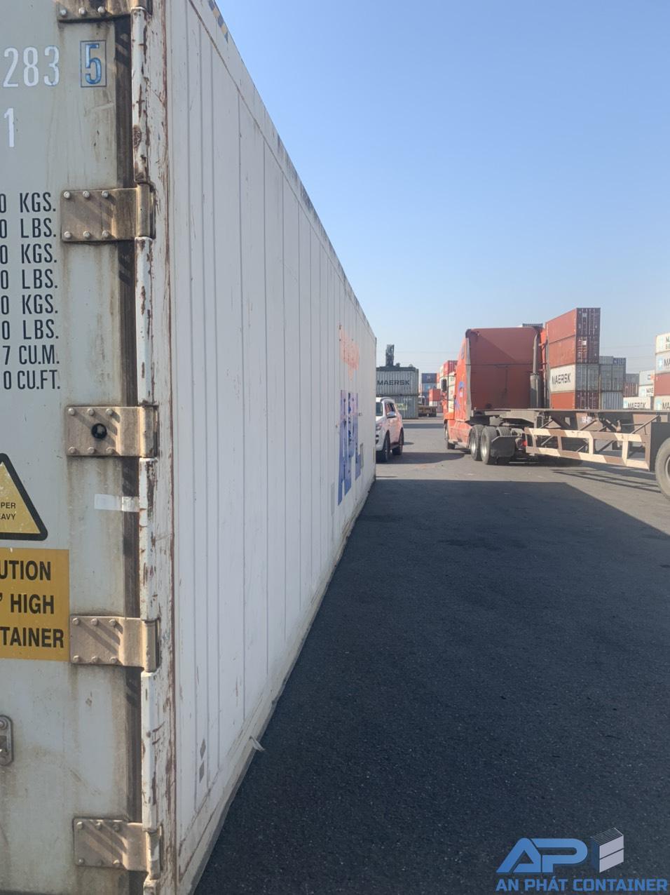 Container lạnh 40 feet đã qua sử dụng