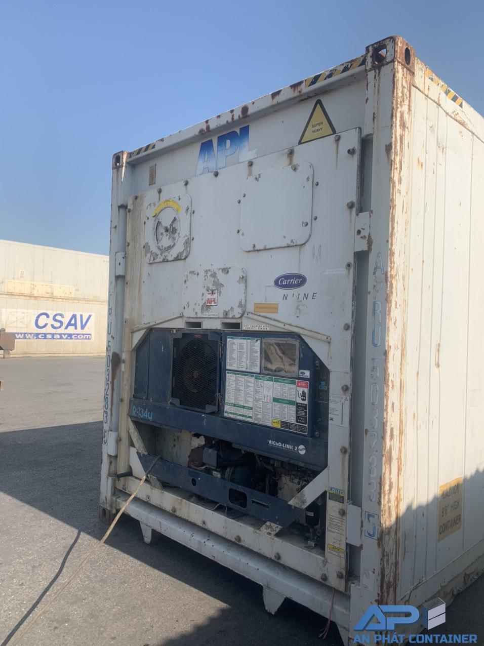 Dàn máy lạnh của container lạnh cũ